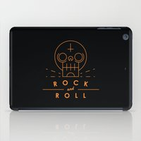 rock and roll iPad Cases featuring Rock & Roll by Mr Panesar, Illustration & Design