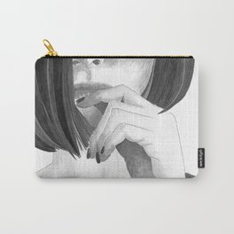 The Pixie Cut Woman Carry-All Pouch