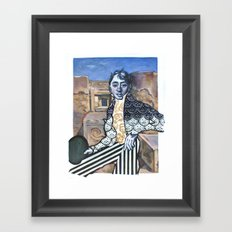 Who In the World Am I? Ah, That's the Great Puzzle Framed Art Print