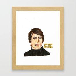 JACQUES DUTRONC Framed Art Print