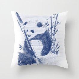 Self Preservation Throw Pillow