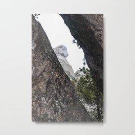 Mount Rushmore National Memorial, South Dakota, Presedential Trail, cave Metal Print
