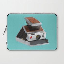 Retro Polaroid SX-70 Camera Polygon Art Laptop Sleeve
