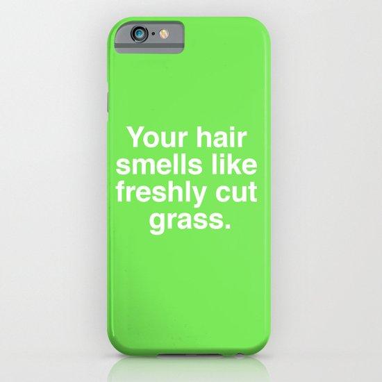 Freshly Cut Grass iPhone & iPod Case
