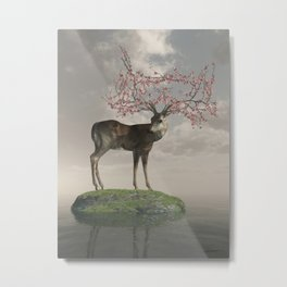 The Guardian of Spring Metal Print