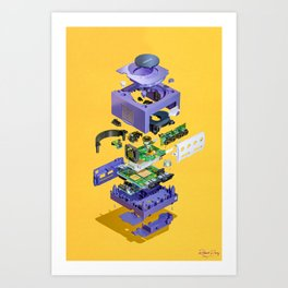 Assembly Required 8 Art Print