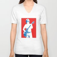 phil jones V-neck T-shirts featuring Phil Lesh by St.Knick