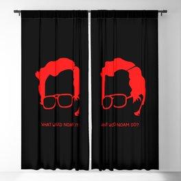 Noam Chomsky The God of Anarchist Blackout Curtain