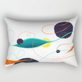 Fishing Hole Rectangular Pillow