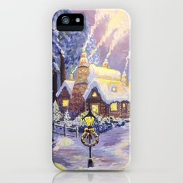Warm Christmas iPhone Case