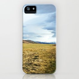 Nothing but sky iPhone Case