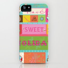 Sweet Holiday Card iPhone Case