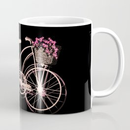 Cute pink bicycle Coffee Mug