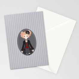 Lucy (Dark Version) Stationery Cards