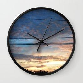 Dawn at Maracaibo City - September 21st, 2013 Wall Clock