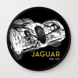 Jaguar Motor Car Wall Clock
