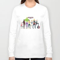 aquaman Long Sleeve T-shirts featuring Band by Andres Moncayo