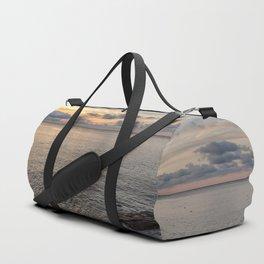 Sunset over the Ocean 7-21-18 Duffle Bag