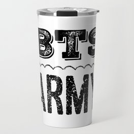 BTS Army Logo Travel Mug