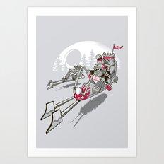 Easy Speedin' Art Print