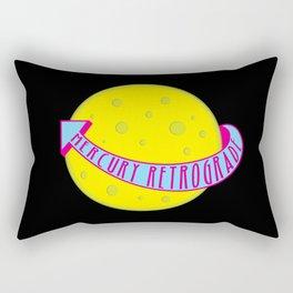 Mercury Retrograde Rectangular Pillow