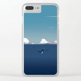 Arctic Sea Clear iPhone Case