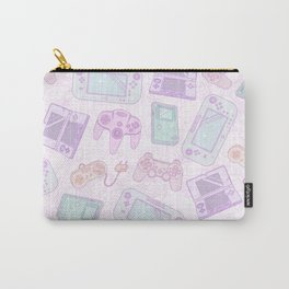 Gamer Girl Pattern Carry-All Pouch