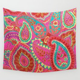 Floral Paisley Pattern 07 Wall Tapestry