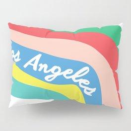 LOS ANGELES RAINBOW STRIPES Pillow Sham