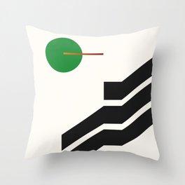 Late Night Tv 003 Throw Pillow