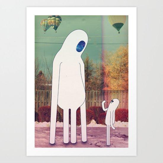 2_tizi Art Print