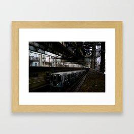Subterranean Ascent  Framed Art Print