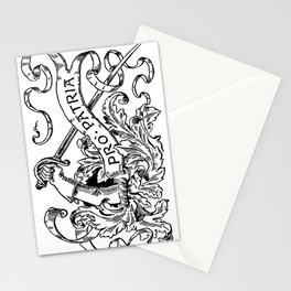 Battle-Fields. Pro Patria.  Stationery Cards