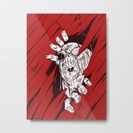 Eat your head Metal Print