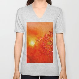 Harvest Sky Unisex V-Neck