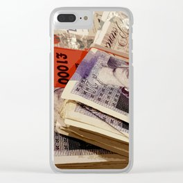 STACKS O' DOSH Clear iPhone Case