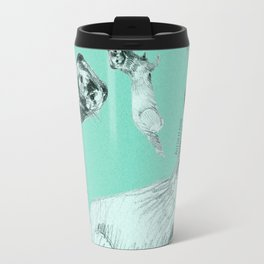 Mink in Bleu (c) 2017 Travel Mug