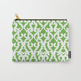 Modern Baroque Green Carry-All Pouch