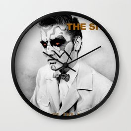 Sith Lords of the World Unite Wall Clock