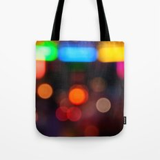 Night Light Colors Tote Bag