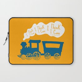 I Think I Can, I Think I Can, I Think I Can - The Little Engine that Could inspired Print Laptop Sleeve