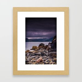 Elgol Beach Framed Art Print