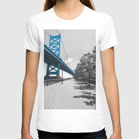 Ben Franklin Bridge-Race Street Pier Philadelphia by seansides