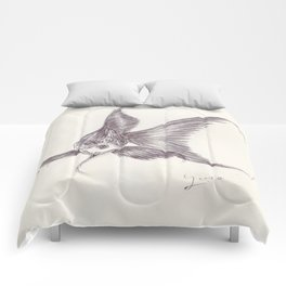 BALLPEN FISH 3 Comforters