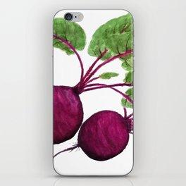 beetroot iPhone Skin