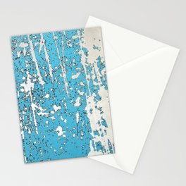 Old chipping paint as abstract artwork Stationery Cards