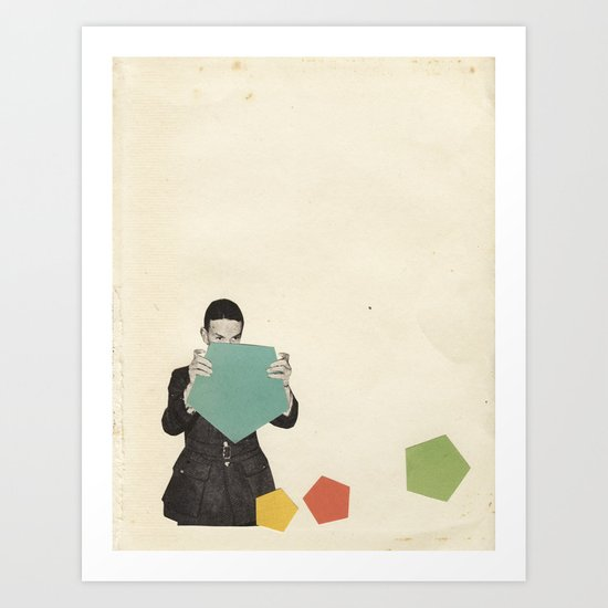 Discovering New Shapes Art Print