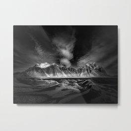 Vestrahorn Mountain, Iceland Metal Print