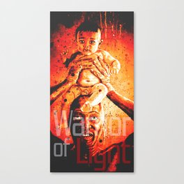 warrior of light Canvas Print