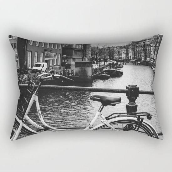 Amsterdam Bicycle Rectangular Pillow